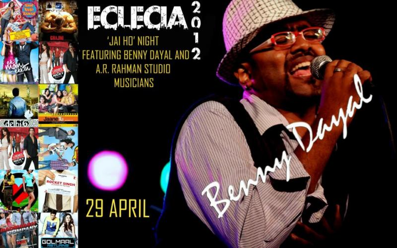 Benny Dayal at Heritage Institute of Technology, Kolkata